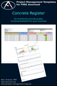 Concrete Register Template (Excel)
