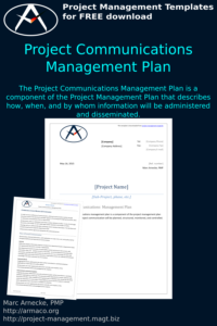 Download Project Communications Management Plan Template