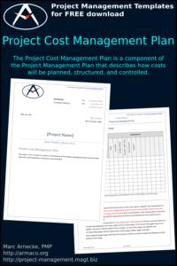 Project Cost Management Plan - Pinterest