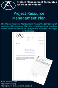 Project Resource Management Plan Template
