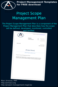 Project Scope Management Plan Template