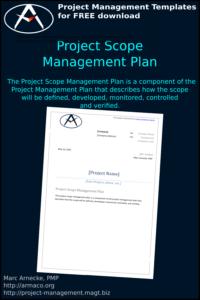 Download project scope management plan