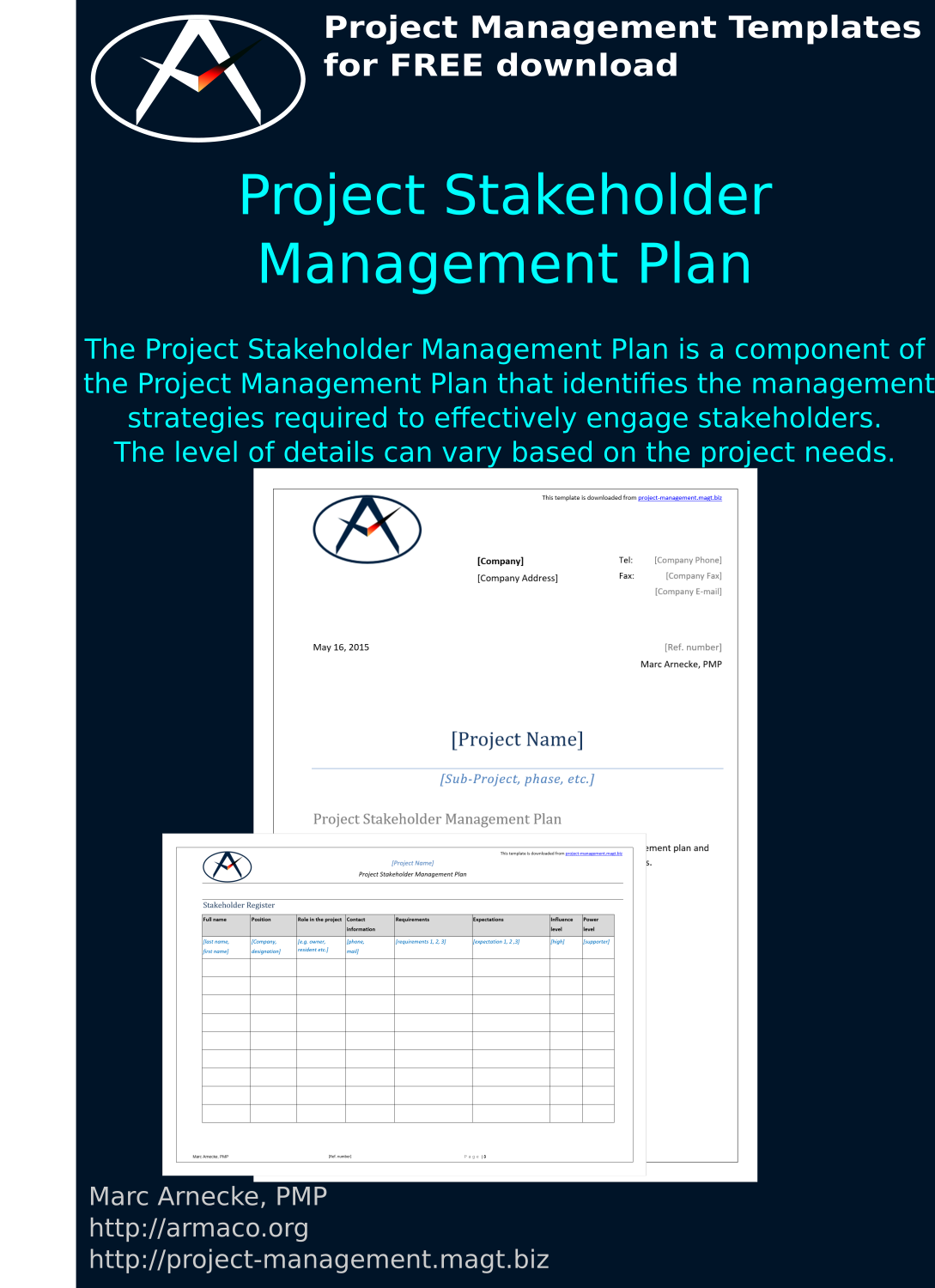 Download Project Stakeholder Management Plan Template