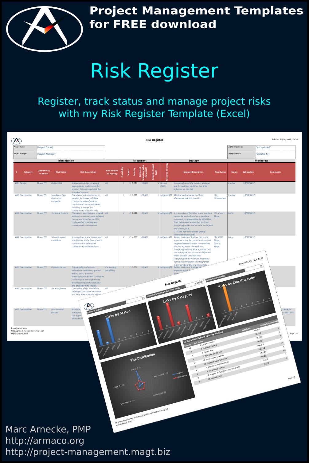 Download Risk Register Template
