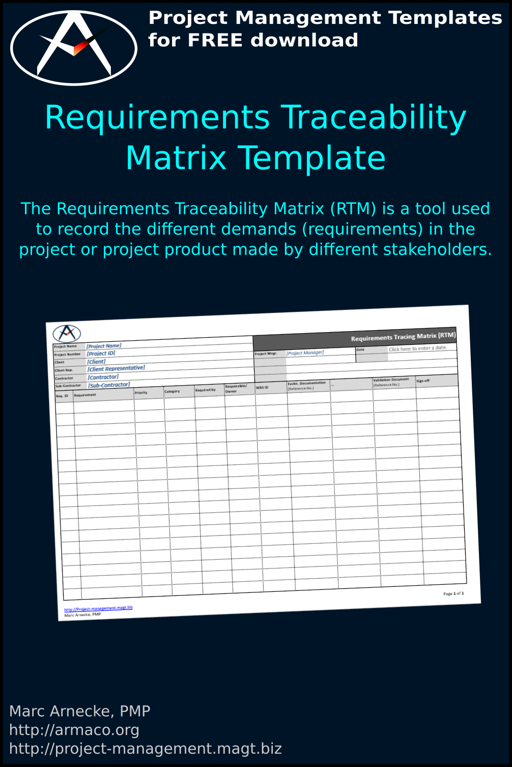 download Requirements Traceability Matrix Template