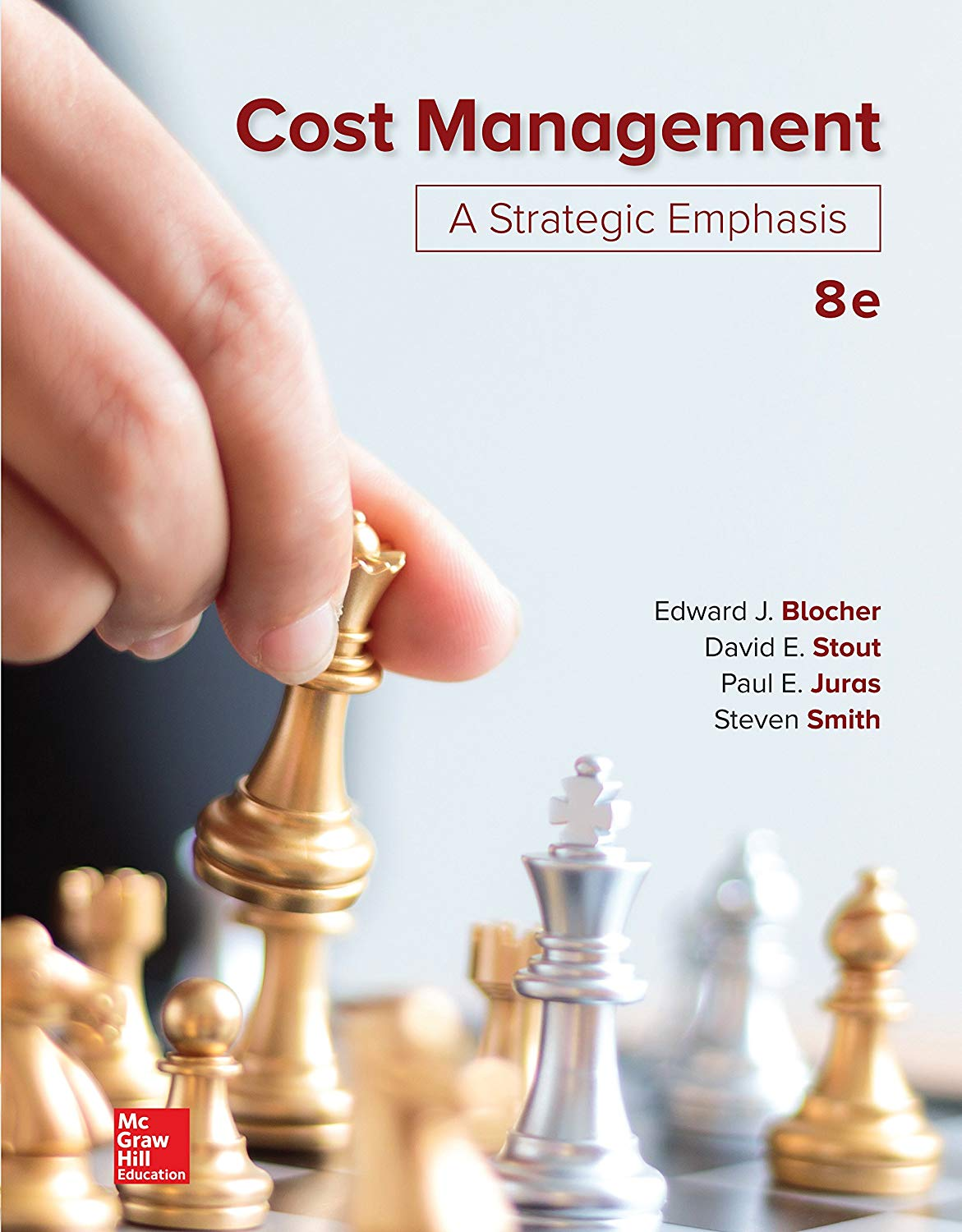 Cost Management: A Strategic Emphasis 8th Edition